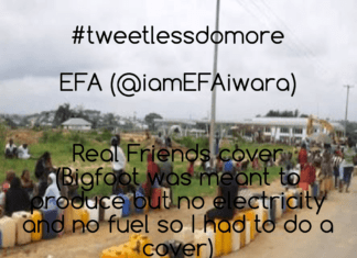 Efa - TWEET LESS DO MORE (a Kanye West cover) | #TLDM Artwork | AceWorldTeam.com