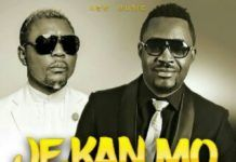 Mr. Raw ft. Oritse Femi - JE KAN MO (prod. by Classic Music) Artwork | AceWorldTeam.com