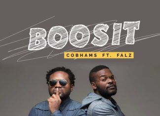 Cobhams Asuquo ft. Falz - BOOSIT Artwork | AceWorldTeam.com