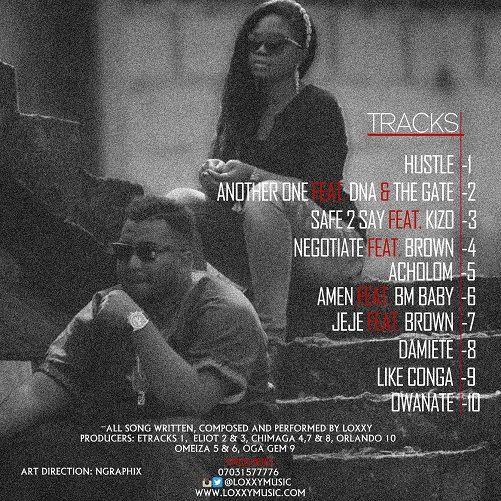 Loxxy - DAMIETE (The EP) Back Artwork | AceWorldTeam.com
