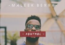 Maleek Berry - KONTROL Artwork | AceWorldTeam.com