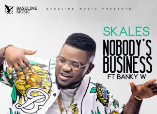 Skales ft. Banky W - NOBODY's BUSINESS (prod. by Killer Tunes) Artwork | AceWorldTeam.com