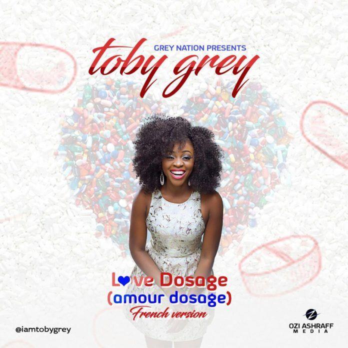 Toby Grey - AMOUR DOSAGE (Love Dosage ~ French Version) Artwork | AceWorldTeam.com