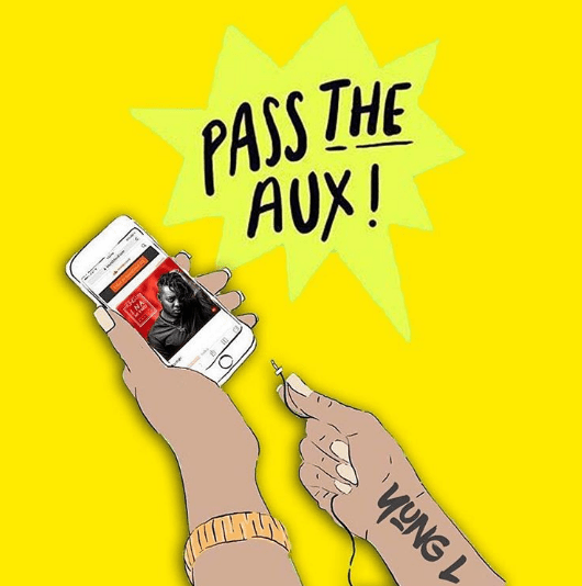 Yung L - PASS THE AUX (prod. by Chopstix) Artwork | AceWorldTeam.com