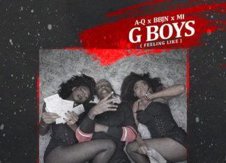 A-Q ft. M.I & BBJN - G-BOYS (Feeling Like) Artwork | AceWorldTeam.com