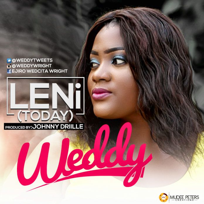 Weddy - LENI (Today ~ prod. by Johnny Drille) Artwork | AceWorldTeam.com