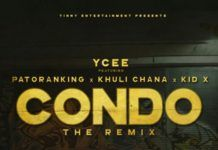 YCee ft. Patoranking, Khuli Chana & Kid X - CONDO (The Remix) Artwork | AceWorldTeam.com