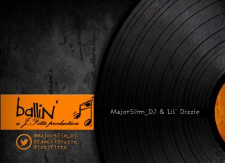 MajorSlim_DJ & Lil' Dizzie - BALLIN' (prod. by J.Fitts) Artwork | AceWorldTeam.com