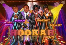 Danagog ft. DavidO, Burna Boy & Stonebwoy - HOOKAH Remix (prod. by Mix Masta Garzy & Kiddominant) Artwork | AceWorldTeam.com