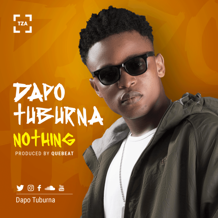 Dapo Tuburna - NOTHING (prod. by QueBeat) Artwork | AceWorldTeam.com
