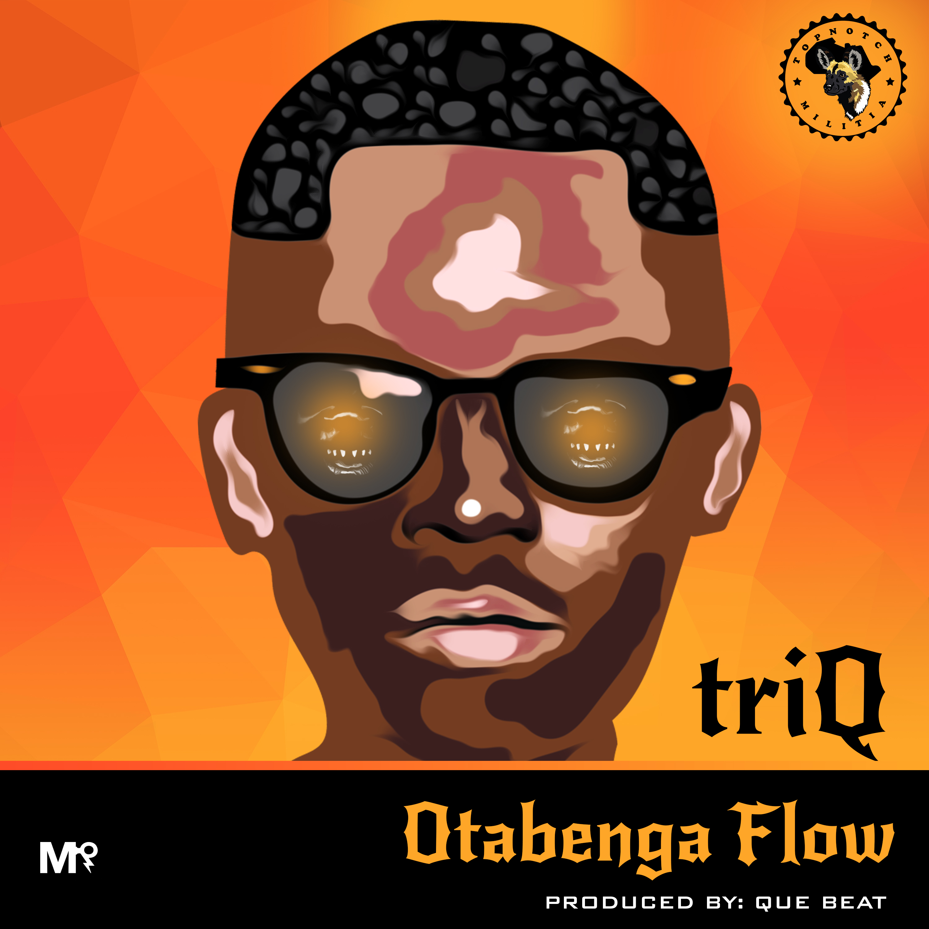 TriQ - OTABENGA FLOW (prod. by QueBeat) Artwork | AceWorldTeam.com
