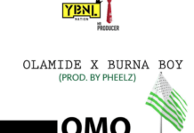 Olamide & Burna Boy - OMO WOBE ANTHEM (prod. by Pheelz) Artwork | AceWorldTeam.com