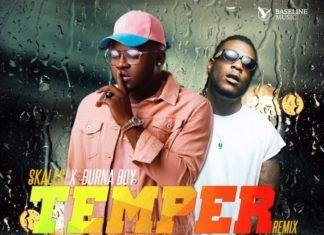 Skales ft. Burna Boy - TEMPER Remix (prod. by KrizBeatz) Artwork | AceWorldTeam.com