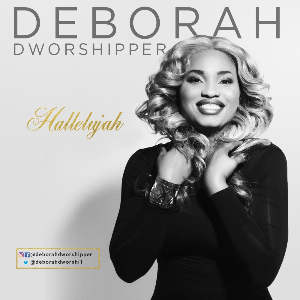 Deborah Dworshipper - HALLELUJAH Artwork   AceWorldTeam.com