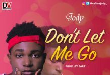 "Jody - DON'T LET ME GO (a Sarz/Phil Collins ""Paradise"" remake) Artwork 
