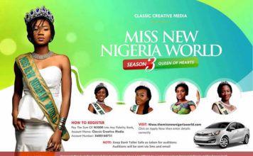 MISS NEW NIGERIA WORLD 2017 | AceWorldTeam.com