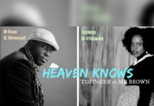Tosinger ft. Mr. Brown - HEAVEN KNOWS Artwork | AceWorldTeam.com