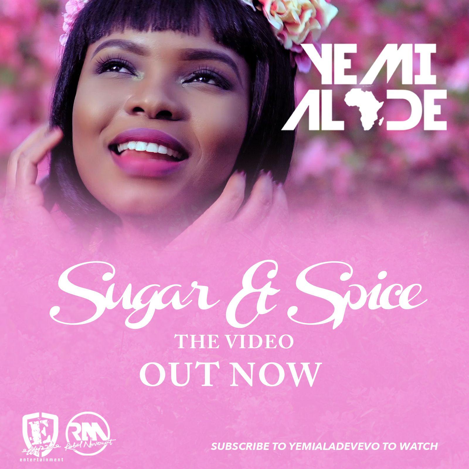 Yemi Alade - SUGAR & SPICE (Official Video) Artwork | AceWorldTeam.com