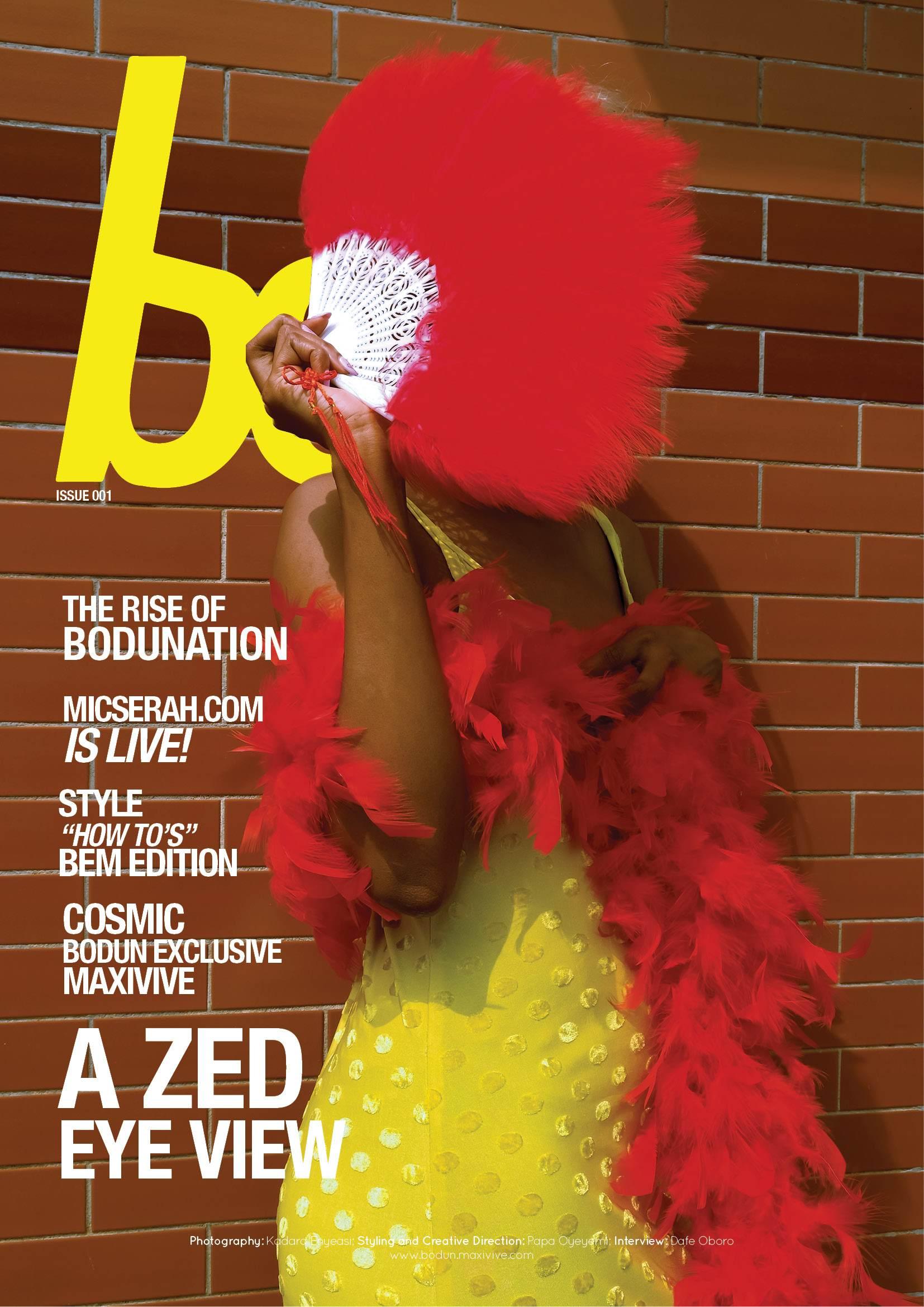 Zed Eye - Bo Magazine Cover 2 | AceWorldTeam.com