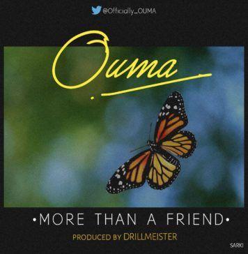 Ouma - MORE THAN A FRIEND (prod. by DrillMeister) Artwork   AceWorldTeam.com