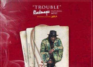 Black Magic ft. Myst - TROUBLE (prod. by Xela Xelz) Artwork | AceWorldTeam.com
