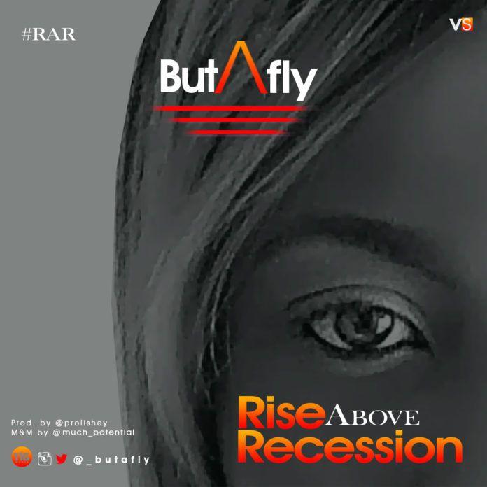 Butafly - RISE ABOVE RECESSION (prod. by Prolishey) Artwork | AceWorldTeam.com