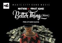 Meitwan ft. Great Adamz - BETTER THING (prod. by Maro Klassic) Artwork | AceWorldTeam.com