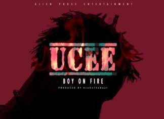 UCee - BOY ON FIRE (prod. by AceOnDeBeatz) Artwork | AceWorldTeam.com