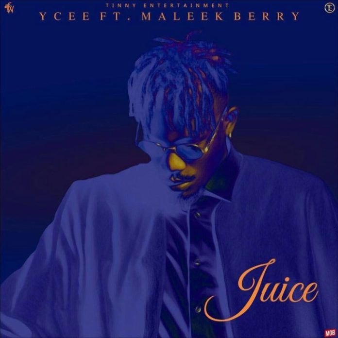 YCee ft. Maleek Berry - JUICE Artwork | AceWorldTeam.com