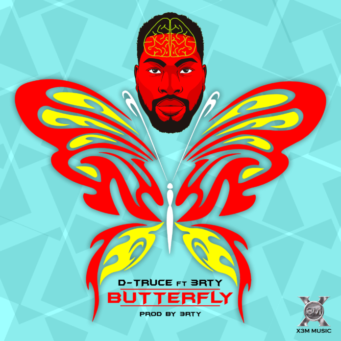 D'Truce ft. 3rty - BUTTERFLY (prod. by 3rty) Artwork | AceworldTeam.com