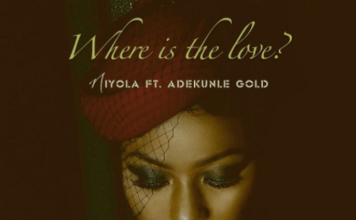 Niyola ft. Adekunle Gold - WHERE IS THE LOVE? (prod. by T.K) Artwork | AceWorldTeam.com