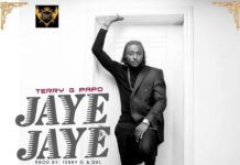 Terry G Papo - JAYE JAYE (prod. by Terry G & DXL) Artwork | AceWorldTeam.com