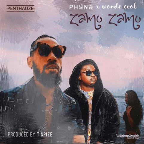 Phyno ft. Wande Coal - ZAMO ZAMO (prod. by TSpize) Artwork | AceWorldTeam.com