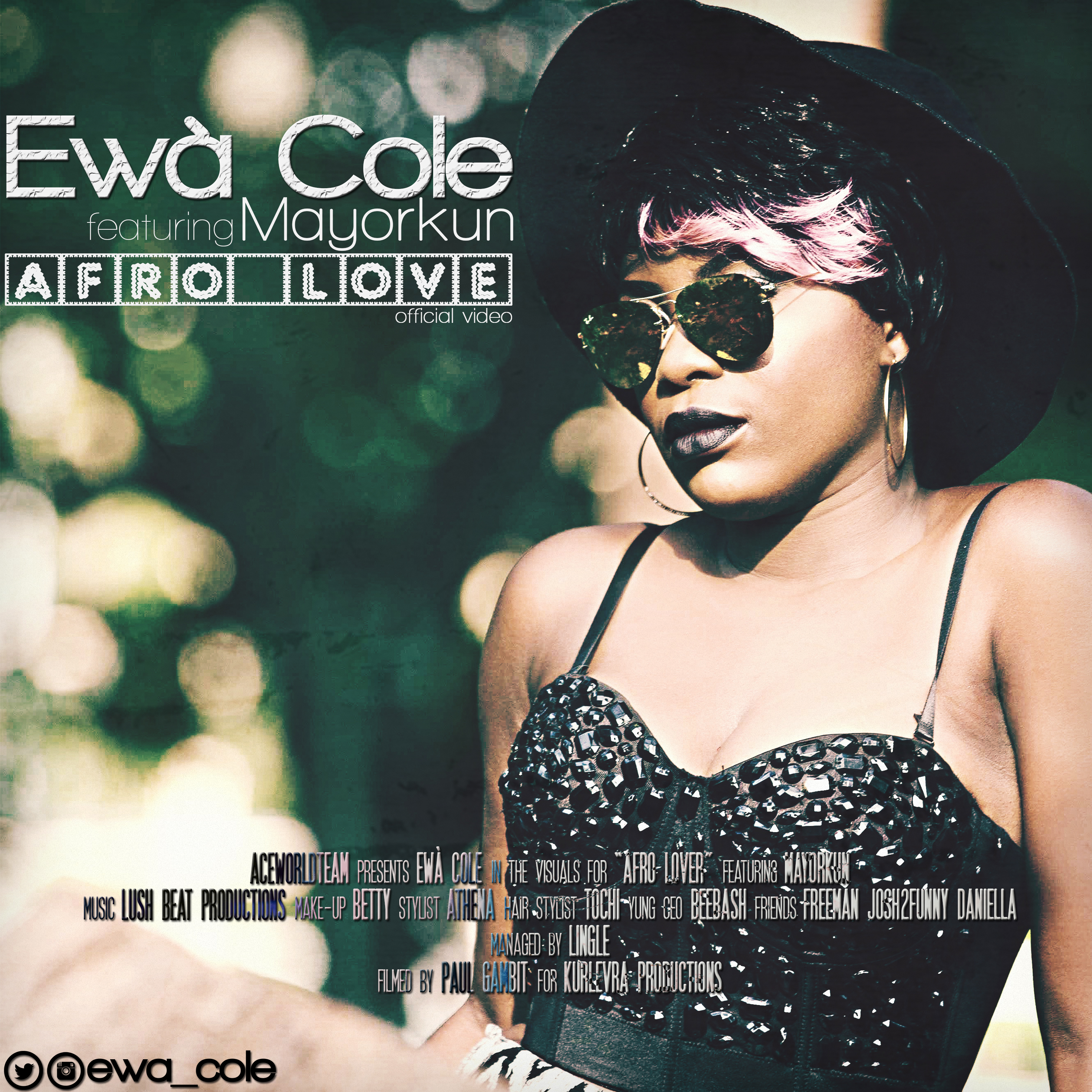 Ewà Cole ft. Mayorkun – AFRO LOVE (Official Video) Artwork | AceWorldTeam.com
