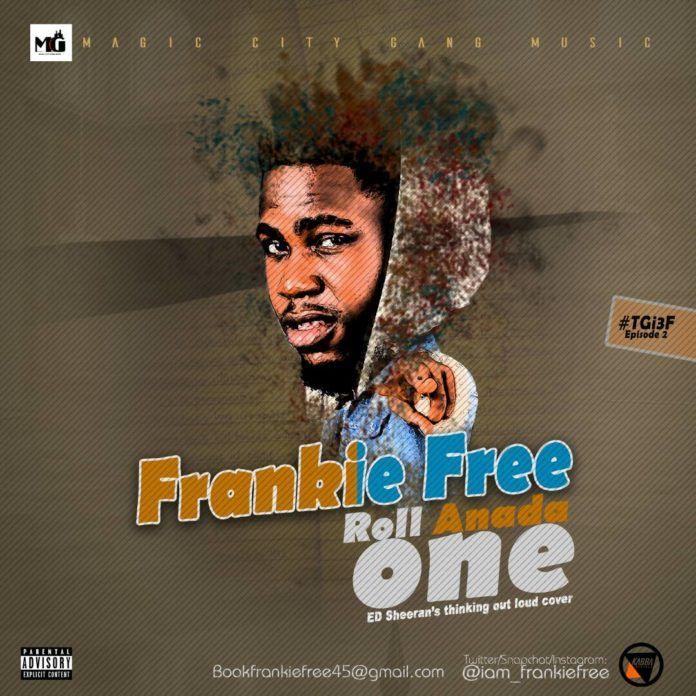 Frankie Free – ROLL ANADA ONE (an Ed Sheeran cover) Artwork | AceWorldTeam.com