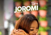 Simi - JOROMI (prod. by Oscar Heman-Ackah) Artwork | AceWorldTeam.com