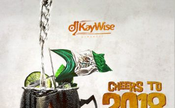 DJ Kaywise - CHEERS TO 2018 (Turn-Up Mix) Artwork | AceWorldTeam.com