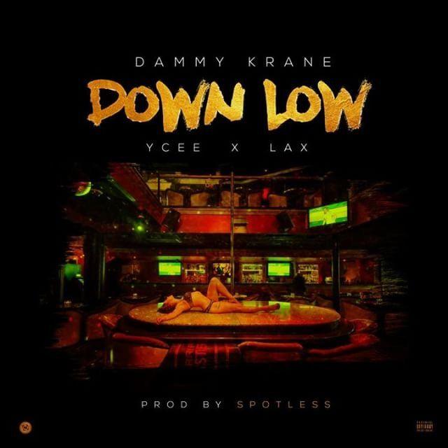 Dammy Krane ft. YCee & L.A.X - DOWN LOW (prod. by Spotless) Artwork | AceWorldTeam.com