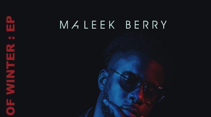 Maleek Berry - FIRST DAZE OF WINTER (EP) Artwork | AceWorldTeam.com