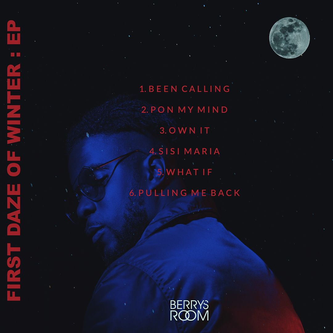 Maleek Berry - FIRST DAZE OF WINTER (EP) Back Artwork | AceWorldTeam.com