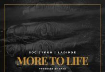 SDC, LadiPoe & Ikon - MORE TO LIFE (prod. by Spax) Artwork | AceWorldTeam.com