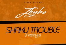 Jhybo - SHAKU TROUBLE (Freestyle) Artwork   AceWorldTeam.com