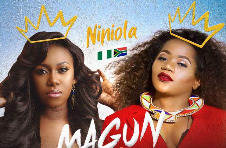 NiniOla ft. Busiswa - MAGUN (Remix ~ prod. by Sarz) Artwork | AceWorldTeam.com
