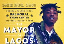 Mayorkun - MAYOR OF LAGOS Concert Artwork | AceWorldTeam.com