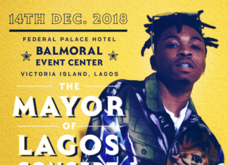 Mayorkun - MAYOR OF LAGOS Concert Artwork   AceWorldTeam.com