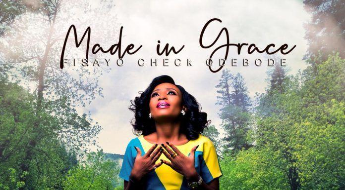 Fisayo Check - MADE IN GRACE (Album) Artwork | AceWorldTeam.com