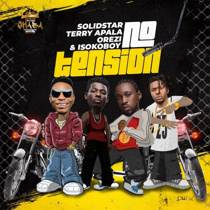 Solid Star ft. Terry Apala, Orezi & Isoko Boy – NO TENSION (prod. by Tuzi) Artwork | AceWorldTeam.com