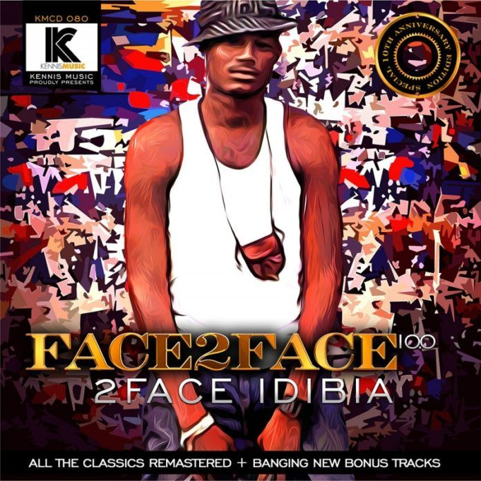 2face Idibia - FACE2FACE 10.0 Artwork