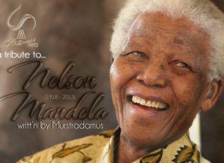 A Tribute To Nelson Mandela ...writt'n by Murstradamus Artwork | AceWorldTeam.com