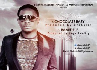 Abdulala - CHOCOLATE BABY [prod. by Chimbalin] + BAMIDELE [prod. by Sage Kwality] Artwork | AceWorldTeam.com